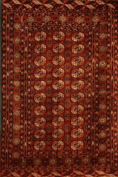 Tekke Size:4' x 6' Region: Turkoman Made: circa 1890