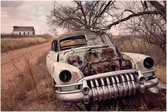 """""""A jewel waiting to be restored. #classic #old #car"""" and those parts could be found by creating a Parts Wanted Listing on PartingOut.com"""