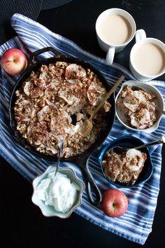 apple chai baked oatmeal: http://passportsandpancakes.com/blog/2013/10/20/apple-chai-baked-oatmeal