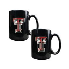 GAP CollegeTexas Tech Red Raiders 15oz Ceramic 2pc Coffee Mug Set Black ** Be sure to check out this awesome product.