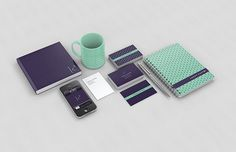 Personal Identity by Lukas Castro, via Behance