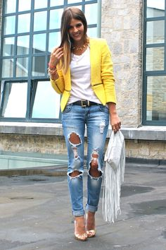 Jaqueta amarela do aliexpress