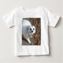 Snow_White_Meerkat,_ Tee Shirts