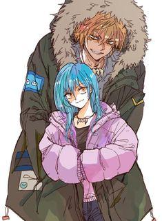 Manga Anime, Anime One, Slime, Blue Hair Anime Boy, Black Buttler, Video Game Characters, Dope Art, Gothic Art, Manga Games
