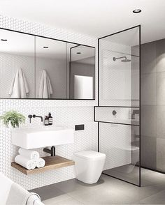 Modern Small Bathroom Design The Basic Components of Modern Bathroom Designs Modern Small Bathroom Design. Incorporating a modern bathroom design will give you a more … Modern Bathroom Design, Bathroom Interior Design, Bathroom Designs, Modern Bathrooms, Modern Sink, Modern Design, Bath Design, Modern Toilet, Luxury Bathrooms