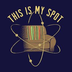 This is My Spot Cisco Ramon t-shirt from The Flash. It is a nod to Sheldon Cooper on The Big Bang Theory.