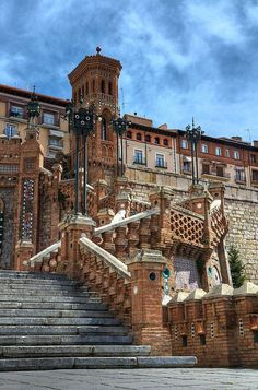 """yes-yolan: """" Teruel, Spain """" Beautiful Architecture, Beautiful Buildings, Places To Travel, Places To See, Wonderful Places, Beautiful Places, Bg Design, Iberian Peninsula, Voyage Europe"""