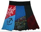 Plus Größe 2 X 3 X Boho Chic Hippie Rock Damen Upcycled Kleidung von Twinkle