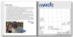 Monthly Letters, March