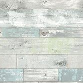 "Found it at AllModern - Beachwood Peel and Stick 18' x 20.5"" Wood Wallpaper"