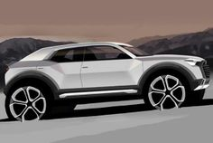 Meet the 2016 Audi Q1! How mean do those wheels look!!!