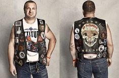 des portraits de bikers Harley Davidson par Sacha Goldberger  2Tout2Rien