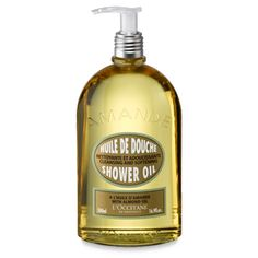 L'Occitane Almond Shower Oil is the best thing for shaving your legs in the shower
