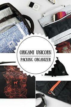 Origami Unicorn TUO Review: The Travel Undergarment Organizer!: