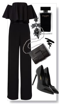 """nye"" by simranhussain on Polyvore featuring Fallon, Yves Saint Laurent, Narciso Rodriguez, Rochas and MM6 Maison Margiela"