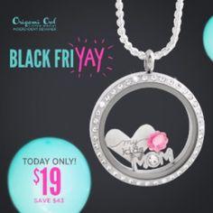 Black Fri-YAY + Cyber Monday Sweet Deals #OrigamiOwl