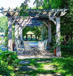 #arbor #garden #pool #athomewith #quintessence #countryhouses #millbrook Outdoor Structures, Photo And Video, Country, Garden Pool, Instagram, Gardens, Interior Design, House, Nest Design