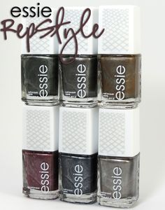Review & Swatches: essie RepStyle Collection (magnetic collection) | Beauty Junkies Unite