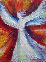Bildergebnis für acrylbilder engel malen