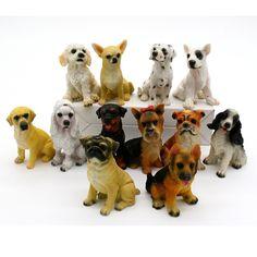 12pcs Miniature Dog Figurines FREE SHIPPING worldwide 🌎 Money back guarantee ✅ 25% DISCOUNT!!!