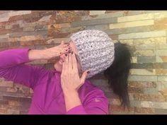 Sombrero A Crochet, Crochet Videos, Crochet Hats, Beanie, Youtube, Hats And Caps, Crochet Cap, Diy And Crafts, Tricot