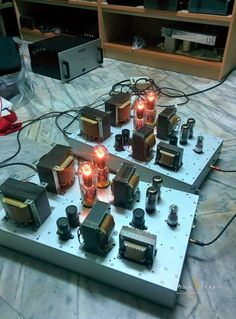 Sam 805 push pull power amplifier project