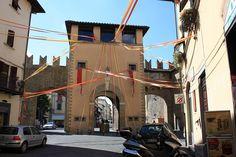 Via San Lorentino, Arezzo city, Tuscany, Italy