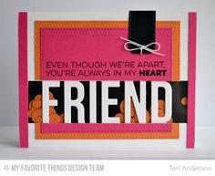 Friends Like Us, Friend Die-namics, Sequins Die-namics, Stitched Rectangle STAX Die-namics, Stitched Traditional Tag STAX Die-namics - Teri Anderson  #mftstamps