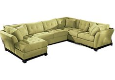 Shop for a Cindy Crawford Home Metropolis Wasabi Left 3 Pc Sectional at Rooms To Go. Find Sectionals that will look great in your home and complement the rest of your furniture.