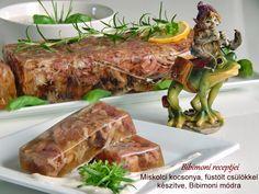Miskolci kocsonya, füstölt csülökkel készítve, Bibimoni módra Hungary, Steak, Pork, Beef, Pork Roulade, Meat, Pigs, Ox, Ground Beef