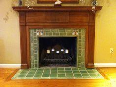 Rookwood Pottery Tile Installation - One80Design