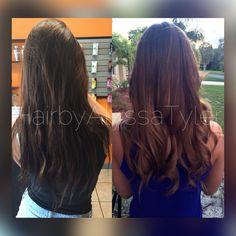 Color correction by Alyssa Tyler  Follow me on Ig: @hairbyalyssatyler   #ombré #ombre #colorcorrection #guytang #style #hair #beachwaves