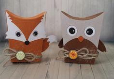 Sizzix Owl and Fox Box – Katie Skilton Design