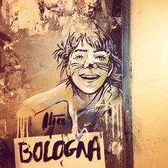Alice Pasquini - Via del Pratello, Bologna - Italy #streetart