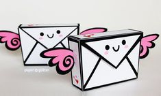 Ideas Origami Box Printable Paper Crafts For 2019 Paper Toys, Paper Crafts, Foam Crafts, Diy Paper, Paper Art, Diy Kawaii, Kawaii Crafts, Origami Box, Origami Templates