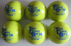 Weighted Balls and Bats 181331: Total Control Ball Tcb 74 Baseball Weighted Training Hitting Batting Aid ~ 6 Pk BUY IT NOW ONLY: $62.5