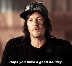 norman reedus — Happy Holidays from Norman Reedus!