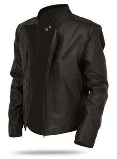 Vintage Arts New Men's Iron Man Tony Stark Black Pure Leather Jacket Biker Racer Men's Leather Jacket, Biker Leather, Leather Men, Leather Jackets, Real Leather, Soft Leather, Black Leather, Studded Jacket, Big And Tall Stores