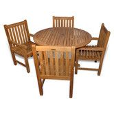Found it at AllModern - Teak Del Mar Dining Set