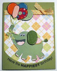 Fantabulous Cricut Challenge Blog: Birthday Bash