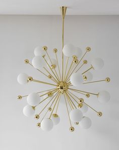 Sputnik chandelier: Let's fall in love with the best mid-century lighting design Dining Room Lighting, Home Lighting, Modern Lighting, Lighting Design, Luxury Lighting, Lighting Ideas, Mid Century Modern Chandelier, Mid Century Lighting, Deco Luminaire