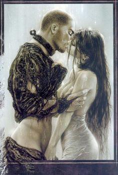 Luis Royo Kiss