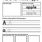 I created this alphabet book to use as I go through the Fast Track with my students. There is a spot to draw the character, write a word (the first...