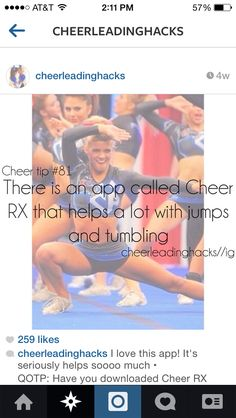 cheer quotes If you have a passion for being better an individual will really like this website! Cheer Tryouts, Football Cheer, Cheer Coaches, Cheer Stunts, Cheer Dance, Team Cheer, Cheer Athletics, All Star Cheer, Cheer Mom