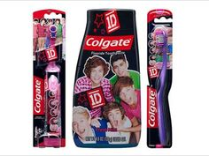 I got: One Direction Toothbrush and Toothpaste! What One Direction Merchandise Is Under Your Christmas Tree?