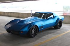1969 C3 Corvette Stingray on Forgeline GA3C Concave Wheels