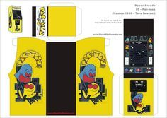 pacman paper toy   PA-Pacman
