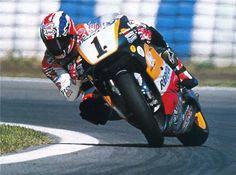 Australia's Mick Doohan and the Repsol Honda team, legends of the 500cc MotoGP world