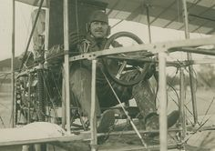 Vintage M. Rol photograph. Ferdinand de Baeder held french pilot license No 107. - Size (inches): about 4.5x6.5 - Date: ca 1910 - Location: France - Condition: Silver print, Good to very good condition, trimmed, light creases. - Sellers reference: Z00145