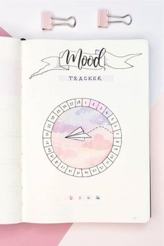 18 Bullet Journal Mood Tracker Ideas For February 2020 - Crazy Laura <br> Are you wanting to start tracking your feelings but need some inspiration for your bujo? Check out these super cute February mood tracker ideas! Bullet Journal Tracker, Bullet Journal Banner, Bullet Journal Lettering Ideas, Bullet Journal Notebook, Bullet Journal School, Bullet Journal Inspiration, Bullet Journals, Bullet Journal Markers, Bullet Journal Design Ideas